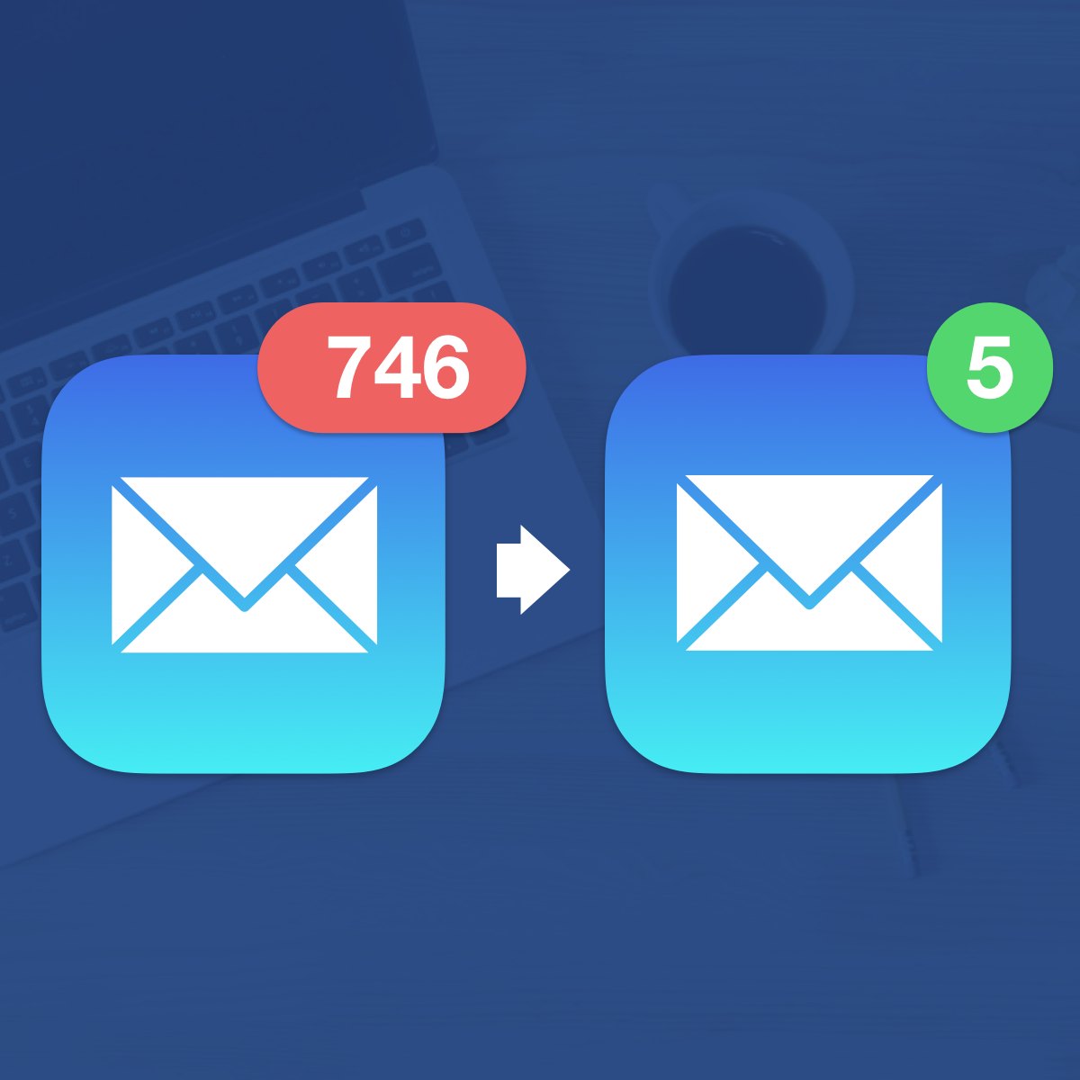Clean up your inbox in minutes & keep it that way forever